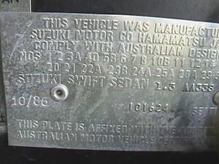 1986 Suzuki Gti Mk1 Ssgti
